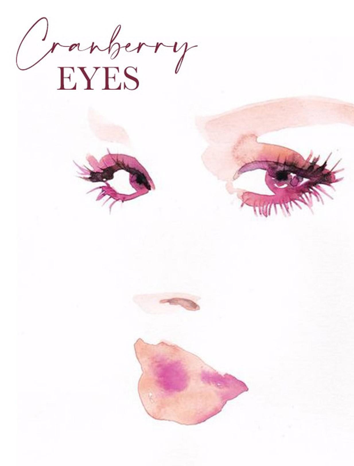 cranberry eyes